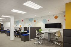 Interior Design and #Graphic Design for Emerson designed by #WareMalcomb. #interiordesign #design #graphic