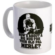 Walking Dead Merle Big Ole Hug Mug