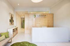 Crisp, clean & inviting - Flourish Paediatrics in Victoria Australia by Molecule
