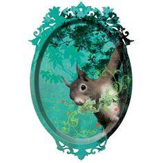 Squirrel Tray by Ibride