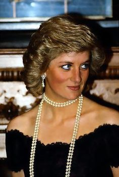 Pearls!  The way they should be worn. Just beautiful always!