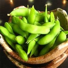 "Have you heard of edamame? Pronounced e-da-ma-mei, the Japanese name literally means ""twig bean"" and refers to young soybeans in the pod that..."