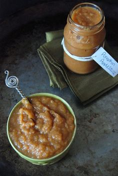 Homemade pumpkin cinnamon applesauce