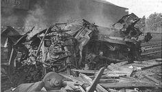 Rail Disaster at Harrow & Wealdstone 1952. Massive train collision killed 111 and injured 349.