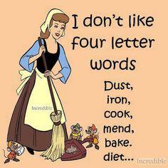 I don't like 4 letter words