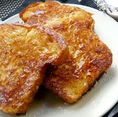 Recipe French Toast – Make French Toast – French Toast Crunch – French Toast Baked — Eat Well 101 Breakfast And Brunch, Great Breakfast Ideas, Health Breakfast, Balanced Breakfast, Perfect French Toast, Make French Toast, French Toast Crunch, Baking Recipes, Snack Recipes