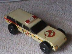 Ghostbusters Pinewood Derby car