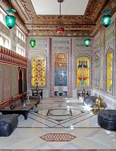 The Syrian room at Doris Duke's Shangri La, in Honolulu. AP Photo/Museum of Arts and Design, The Doris Duke Foundation for Islamic Art, David Franzen.