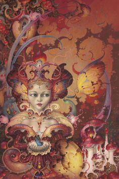 Daniel Merriam - Prestidigitation pastel • Artistes • La Lune Mauve
