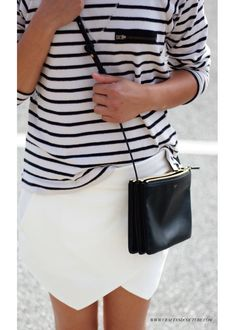 Celine trio, Zara skort and stripes Style File: Fresh on the Fourth ~ Craft and Couture