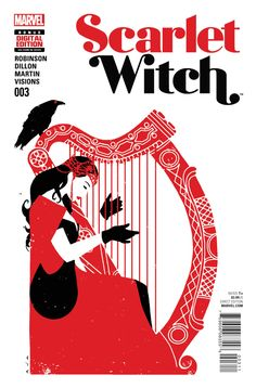 Scarlet Witch #003 - 2016 - Cover by David Aja ----