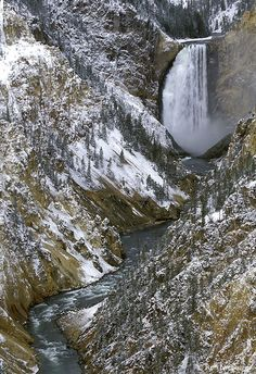 Grand Canyon of the Yellowstone River, Yellowstone National Park, Wyoming