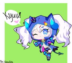 [Elsword]- Chiliarch chibi by FishMish