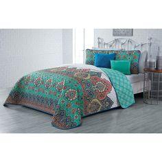 Tribal Bedding, Aqua Bedding, Bohemian Bedding, Teen Bedding, Quilt Bedding, Cute Bedding For Teens, Bed In A Bag, White Queen, Mattress Covers
