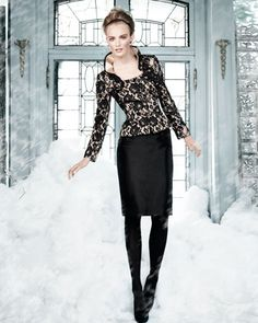 Tahari Lace-Jacket Suit - Neiman Marcus
