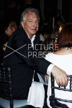 June 5, 2010 - Alan Rickman and Rima Horton attend the annual Raisa Gorbacheva Foundation Party at Hampton Court in London