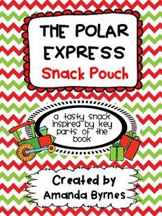 Polar Express Snack Recipe and Poem