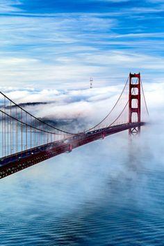 Golden Gate Bridge, San Francisco by wteresa