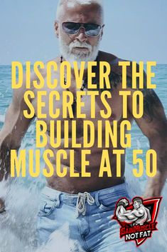 Are wondering how you can start building muscle at We will reveal how you can start working out and build muscle at Muscle Fitness, Mens Fitness, Fitness Tips, Fitness Motivation, Health Fitness, Fitness Icon, Men Health, Senior Fitness, Muscle Food