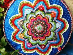 Banju,toute une page, avec diagrammes. - Crochet/FleurBelge
