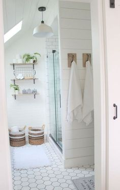 57 Farmhouse Rustic Master Bathroom Remodel Ideas