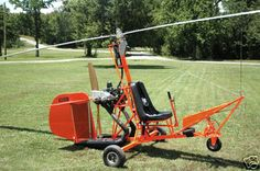 benson gyrocopter...I actually have original plans for one of these...  WOOD rotor blades!