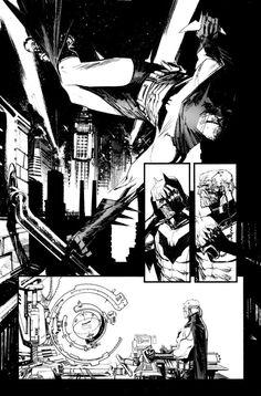 Batman by seangordonmurphy on deviantART