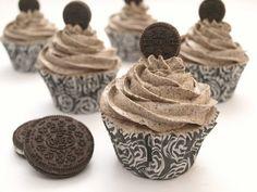 Cupcakes de galletas Oreo - MisThermorecetas
