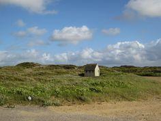 Hütte am Strand von Houstrup.  #Houstrup #Dänemark #Westjutland