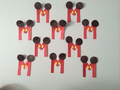 M is for Mickey Mouse. #artsandcrafts #letterm