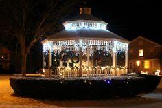 Christmas Lights in Cuba NY Park