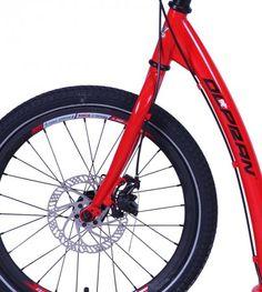 Olpran   Koloběžka A11 červená  | MALL.CZ Mall, Bicycle, Vehicles, Bike, Bicycle Kick, Bicycles, Car, Template, Vehicle