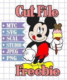 The Scrapoholic : 25 Days Free MTC & SVG Cut Files! Day #17 {Disney}