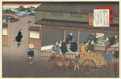 At Kusatsu (station #52), Kita and Yaji discuss the merits of the teahouse.
