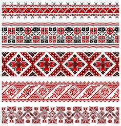 illustrations of ukrainian embroidery ornaments, patterns, frames and borders. Stock Vector - 8877449 Vector - illustrations of ukrainian embroidery ornaments, patterns, frames and borders. Folk Embroidery, Learn Embroidery, Cross Stitch Embroidery, Embroidery Patterns, Cross Stitch Borders, Cross Stitch Patterns, Motifs Blackwork, Palestinian Embroidery, Pattern Design