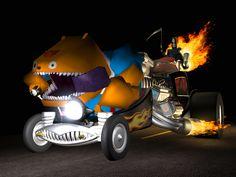 The Bone Wagon. Grim Fandango