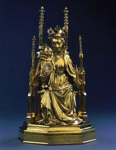 *Reliquary of the umbilicus  Christ-France (Paris?), 1407