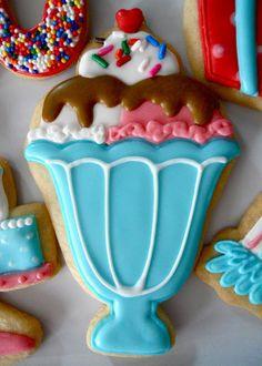 .Icecream sunday cookies Oh Sugar Events