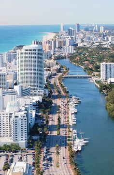 I like this image because of the view that it gives of Miami. It captures the perfect idea of what Miami is like - city, beaches, and hot weather.