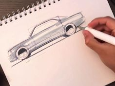 A 27 minutes video by Marouane Bembli from TheSketchMonkey who demonstrates a sketching session with a focus on proportions. Car Sketch, Design Tutorials, Product Design, Sketching, Concept Art, Design Inspiration, Drawings, Cars, Wolves