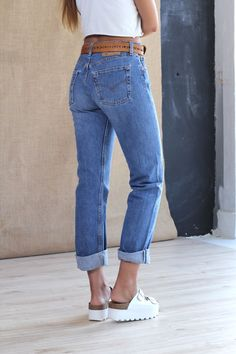New arrivals : Authentic Mid Wash Levis Boyfriend Jeans
