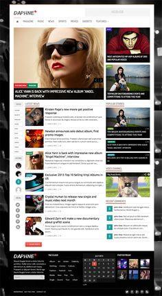 WordPress Themes: Flat, Bold and Responsive Design Themes