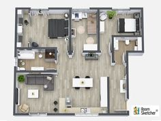 Want to engage more #homebuyers? Add virtual property viewing to your listings with RoomSketcher Live 3D #FloorPlans - http://www.roomsketcher.com/floorplans-en001/ #realestate #propertysales