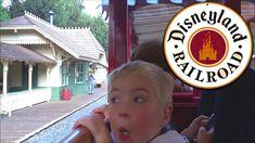 Family Ride on the Disneyland Railroad Train! Circus Maximus, Disneyland, Train, Youtube, People, People Illustration, Disney Resorts, Strollers, Youtubers