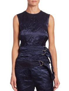 Victoria Beckham - Belted Backless Top
