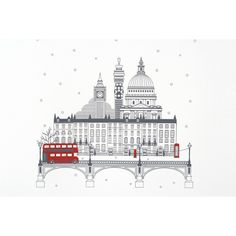 City of London Christmas Cards - - Smythson
