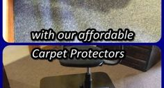 Carpet Protectors | Chairmats. PROTECT your valuable CARPETS against STRETCHING & PILE DAMAGE, caused by the CASTOR WHEELS of Office chairs, with the affordable CARPET PROTECTOR from only R250-00(incl VAT) each. Contact us today on 0726512686 for fast professional service
