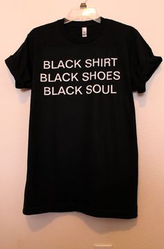 black everything shirt