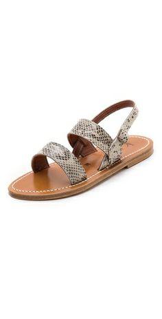 KJacques Barigoule Flat Sandals