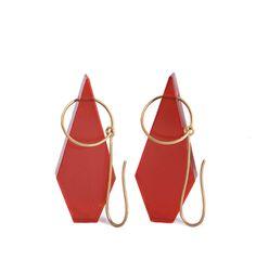earrings / :: Philip Sajet